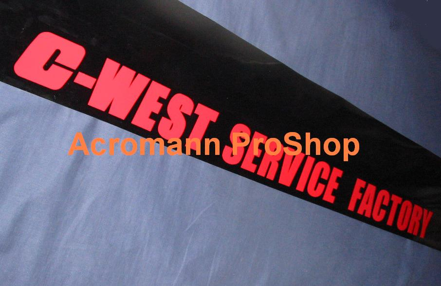 C-West Windshield Decal